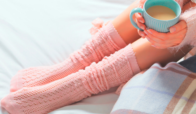 Consejos para utilizar calcetines y evitar los pies fríos en invierno