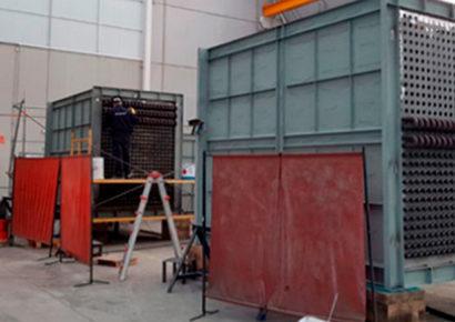 Profesionales en la fabricación de calderas industriales