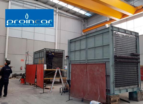 PROINCAR: profesionales en la fabricación de calderas industriales