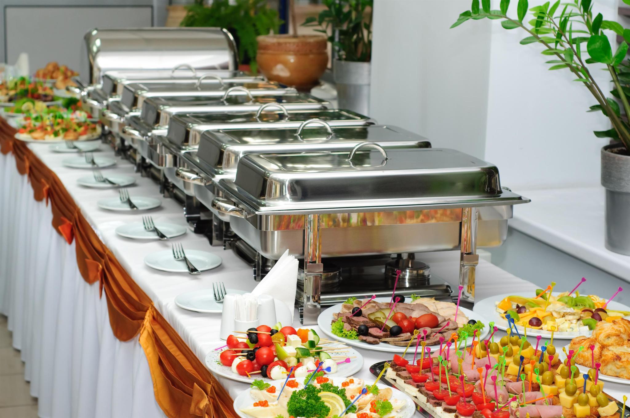 los diferentes servicios de catering