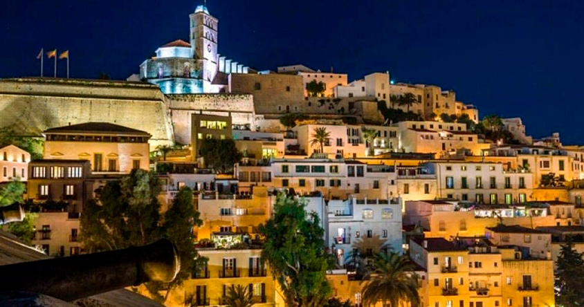 Casco antiguo de Ibiza