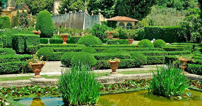 jardín italiano
